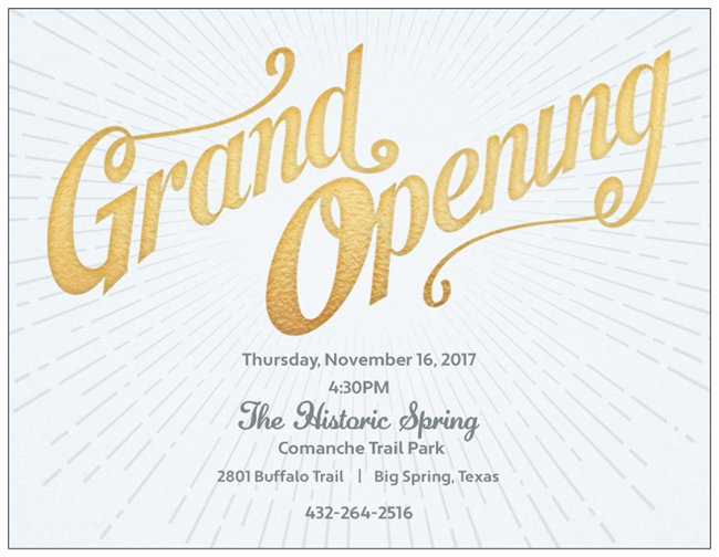 Spring Grand Opening Invitation (2)